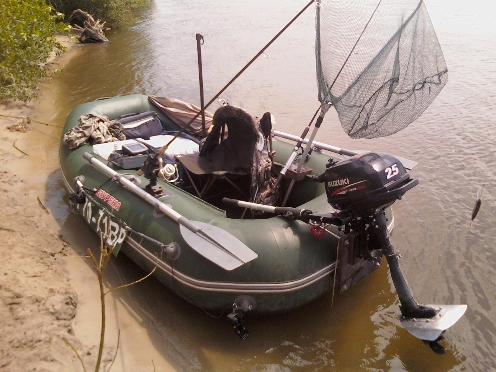Лодочный мотор сузуки дт 8 и лодка пвх