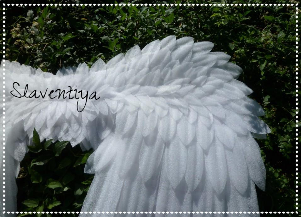 Крылья из изолона своими руками подвижные